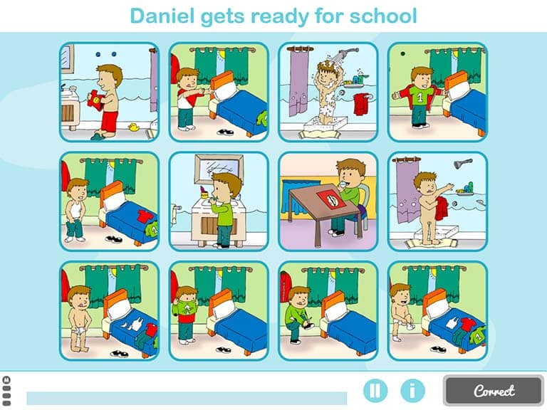 activity to improve reasoning for children step by step