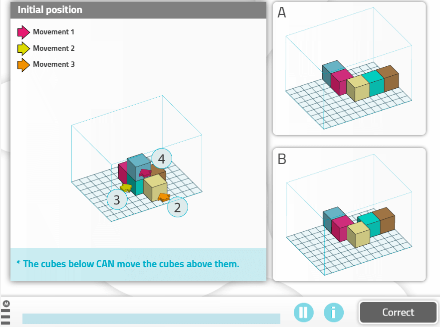 Moving Cubes