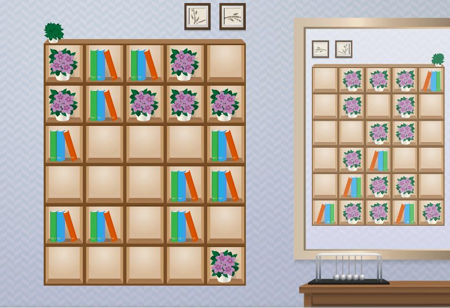 Organize the Bookcase 01